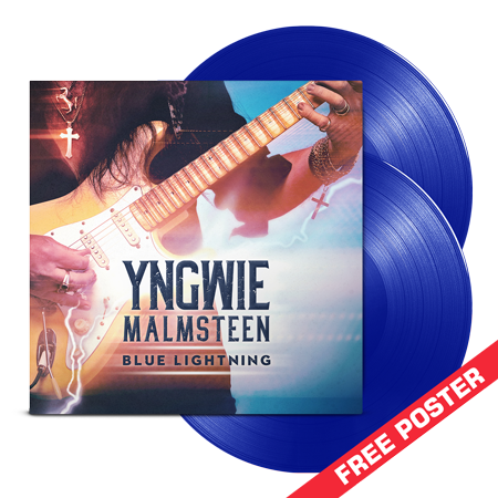 Yngwie Malmsteen - Blue Lightning - 2LP