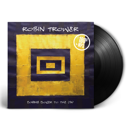 ROBIN TROWER - COMING CLOSER TO THE DAY - LP