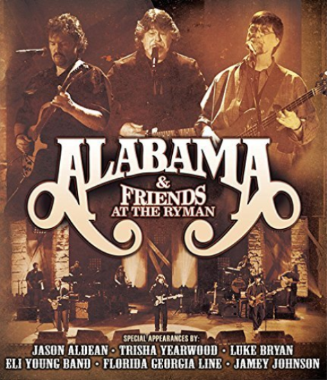 Alabama - At The Ryman - 2CD+DVd