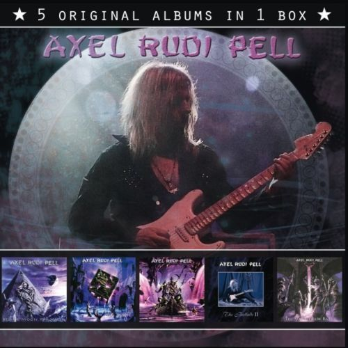Axel Rudi Pell - 5 Original Albums In 1 Box - 5CD