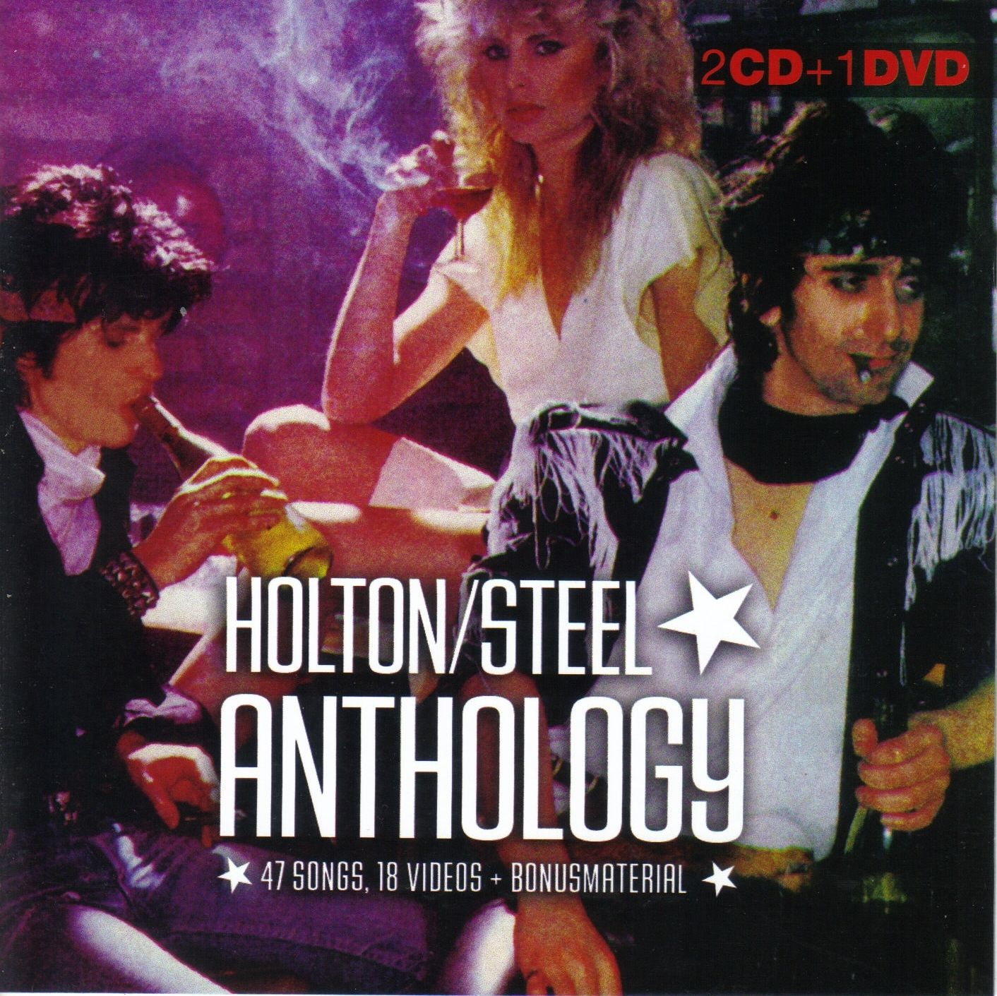 Casino Steel /Gary Holton - Anthology - 2CD+DVD