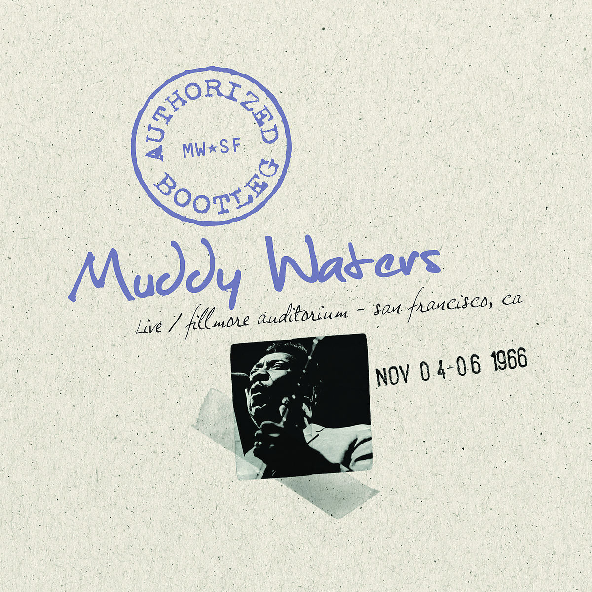 Muddy Waters - Authorized Bootleg: Live at the Fillmore - CD