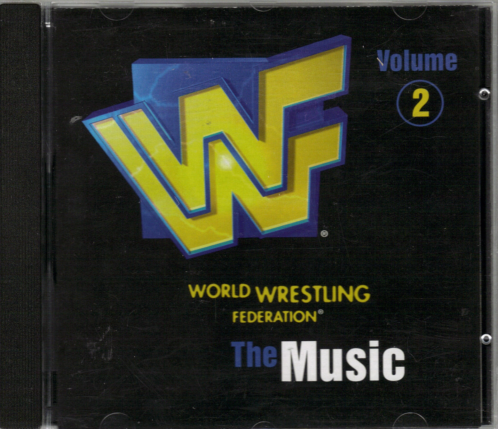 "V/A - WORLD WRESTLING FEDERATION...""THE MUSIC""...""VOL.2-CD"
